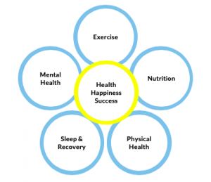 BFitter Performance Wellbeing model